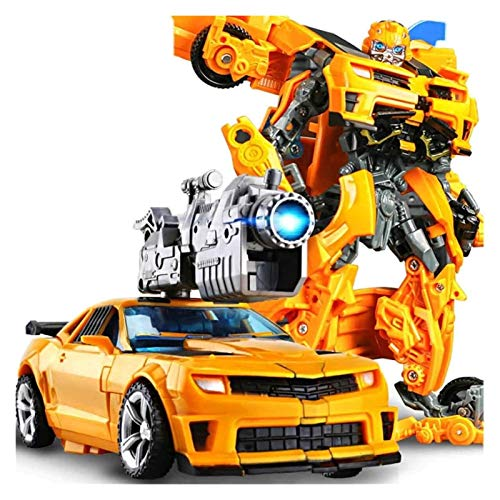 WSNM Action-Figur Spielzeug-Roboter-Auto verformter Liga Character Animation Charakter Modell Auto-Spielzeug ABS Das Form ändern kann, Hummel (Farbe : Bumblebee)