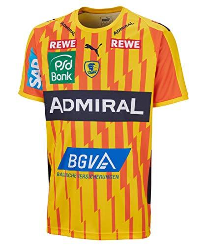PUMA Kinder Handballtrikot RNL Away Shirt Kurzarm gelb (31) M