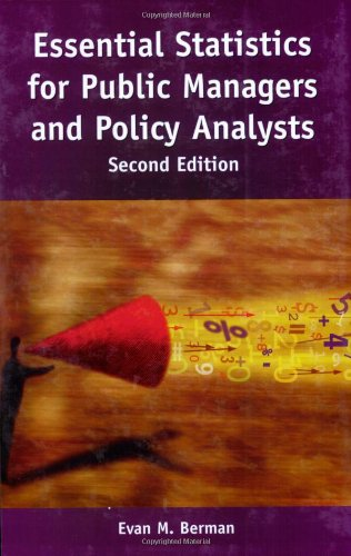 Essential Statistics for Public Managers and Policy Analysts, 2nd Edition