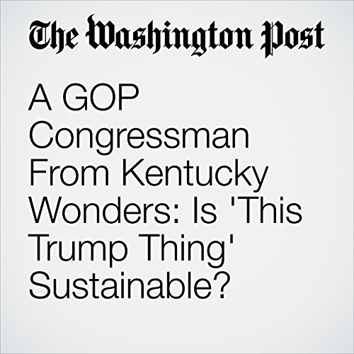 A GOP Congressman From Kentucky Wonders: Is 'This Trump Thing' Sustainable? audiobook cover art