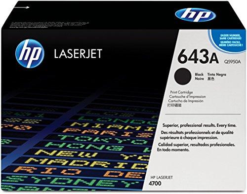 HP 643A Schwarz Original LaserJet Tonerkartusche