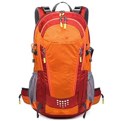 M STAR Outdoor Backpack Sports Bag Waterproof Mountaineering Bag Trekking Travel Backpack,orange