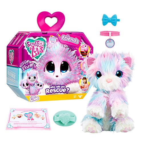 Little Live Scruff-a-Luvs Plush Mystery Rescue Pet - Candy Floss