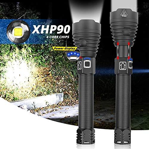 15000LM Linterna LED XHP90 Más Brillante XHP70.2 Potente