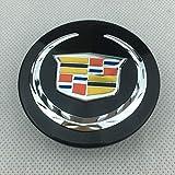 RVTYR Für Wagen-Modifikationszubehör für Radabdeckungen Neue Cts SLS XTS SRX ATS Modified Car Wheel Center Cap Logo Radnabenkappe...
