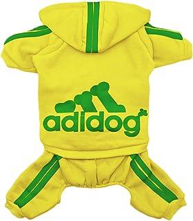 Scheppend Original Adidog Pet Clothes for Dog Cat Puppy Hoodies Coat Winter Sweatshirt Warm Sweater Dog