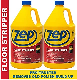 Zep Heavy-Duty Floor Stripper 128 Ounce (Pack of 2)
