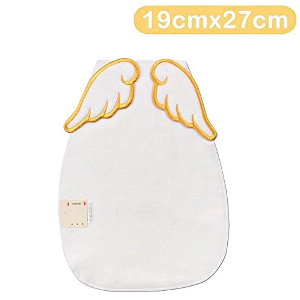 盗難内訳神経衰弱天使の羽 エンジェル翼かわいい汗取りパット3枚セットベビー 赤ちゃん無添加ガーせ生地