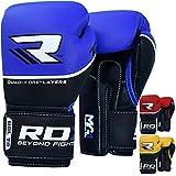 RDX–Guantes de Boxeo, Color Rojo, tamaño 10 onzas