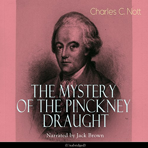The Mystery of the Pinckney Draught audiobook cover art