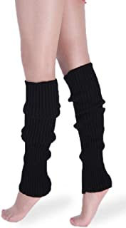 *daisysboutique* Retro Unisex Adult Junior Ribbed Knitted Leg Warmers