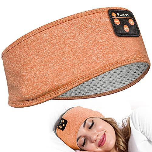 Sleep Headphones Bluetooth Sleeping Headband, Perytong Sleeping Headphones Music Sports Headband, Ultra-Soft Headphones Headband for Side Sleepers, Sleeping Gifts for Men Women