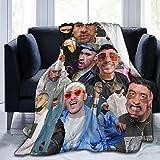 PATRICK Singer Rapper Ultra-Soft Micro Fleece Blanket Cozy Warm Throw Blanket Suitable for All Living Rooms/Bedrooms/Sofa 60'x50'