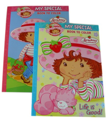 - Amazon.com: Strawberry Shortcake Coloring & Activity Book - Strawberry  Shortcake Coloring Book (2pcs): Toys & Games