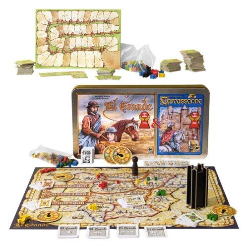 Tchibo Spiele-Set: El Grande und Carcassonne