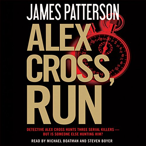 Alex Cross, Run audiobook cover art