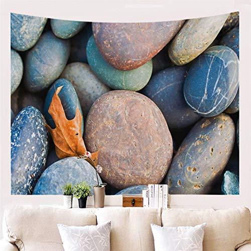 AdoDecor Tapiz Vintage Ladrillos Piedra Tapices de Pared Decorativos Mandala Fondo para Colgar en la Pared Tela de Pared 150x130cm/59 * 51 Pulgadas
