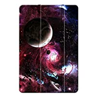 Agger iPad 4/iPad 3/iPad 2/iPad 保護カバー,キズ防止 PU&PC 三つ折 衝撃防止 アンチドロップ 三つ折タイプ 保護ケース iPad 4/iPad 3/iPad 2/iPad Case-宇宙 16