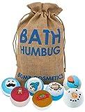 Bomb Cosmetics Pochette cadeau de boules effervescentes pour le bain en toile de jute faite à la main