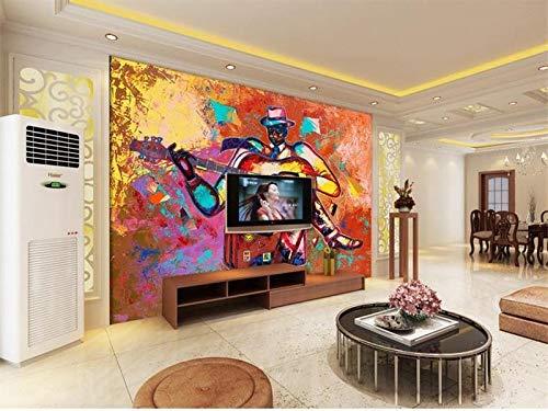 HONGYAUNZHANG Personaggio Astratto Sir Personalizzato Foto Wallpaper 3D Murale Stereoscopico Soggiorno Camera Da Letto Divano Sfondo Muro Murales,230Cm (H) X 310Cm (W)
