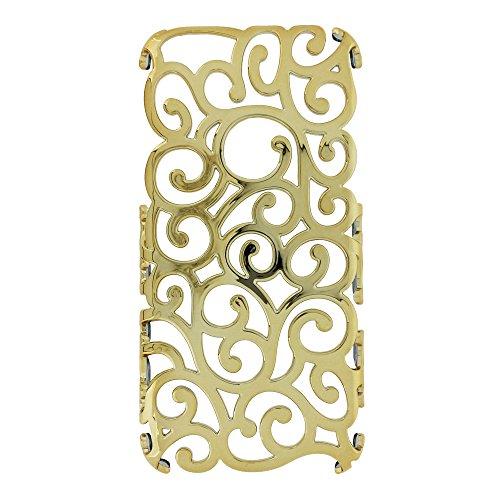 MORE CRYSTAL iPhone6用ケース ゴールド 15ID1-1-GLD
