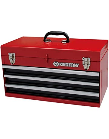 King Tony 874013 Caja de Herramientas con Tres cajones 505 x 195 x 45 mm