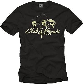 Men's T-Shirt Vintage Music Legends