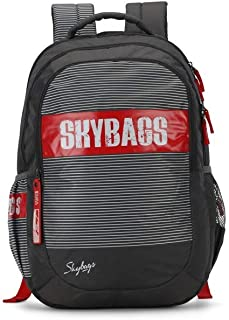Skybags Figo Plus 06 34 Ltrs Grey Casual Backpack (FIGO PLUS 06)