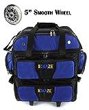 KAZE SPORTS 4 Ball Double Deck Bowling Roller (Blue-Black)