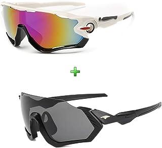 Kit 2 Óculos De Sol Bike Ciclismo Pedal Corrida Proteção Uv