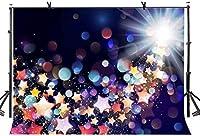HD 10x7ftの抽象的な色の背景祭りのお祝いの写真撮影の背景カスタマイズされた写真撮影の小道具LYZY0288