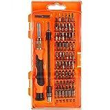 Destornillador magnético, iAmer 58-in-1con 54puntas magnético conductor Kit, Kit de herramientas de reparación de electrónica para Xbox/teléfono celular/Tablet/PC/Macbook