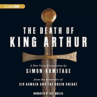 The Death of King Arthur audiobook cover art