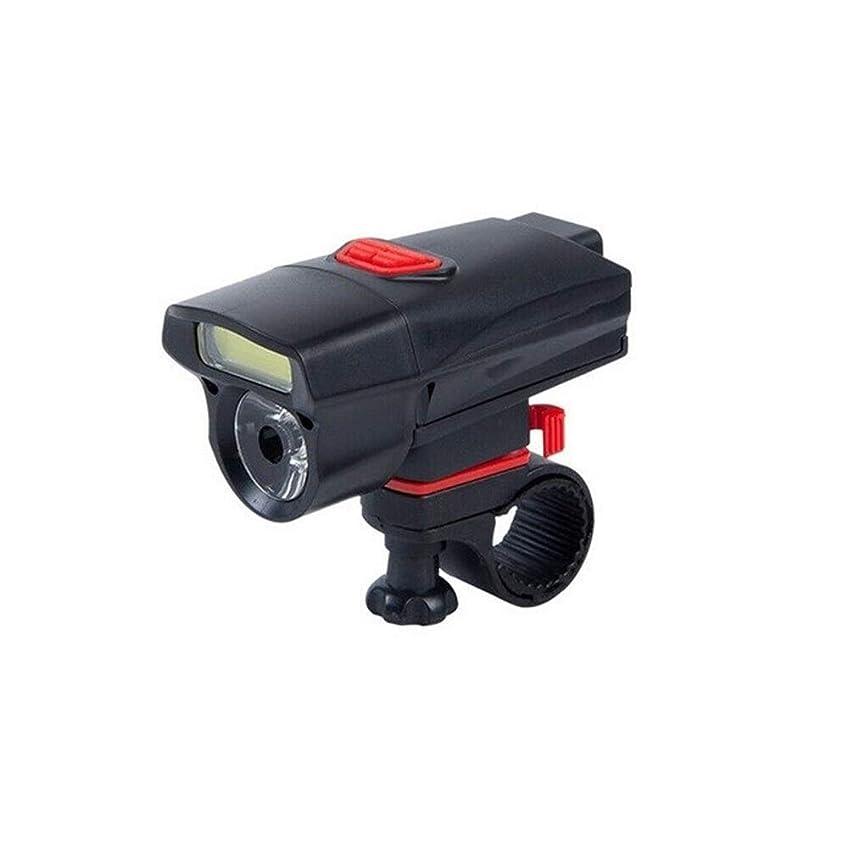 乗算テント時折自転車ライト 自転車ライト自転車LEDサイクリングフロントライト自転車ライトランプトーチ防水ナイトライドハンドルバー懐中電灯ヘッドライト YXJJP (Color : ブラック, Size : フリー)
