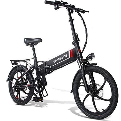 20LVXD30 Bicicleta electrica, Plegable Bicicleta eléctrica para Adultos 10,4 Ah 350W Neumático...