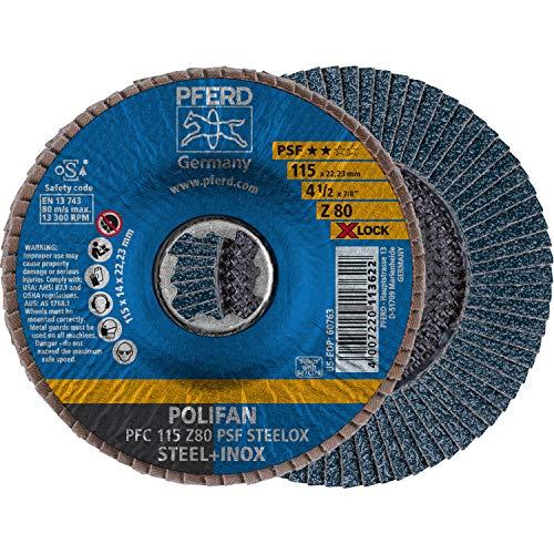 PFERD 67668116 X-Lock Universal-Linie PSF Z STEELOX POLIFAN-Fächerscheibe