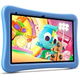 VANKYO MatrixPad S10 Kids Tablet 10 inch, 2 GB RAM, 32 GB Storage, Kidoz Pre Installed, 10.1' IPS HD Display, Android OS, WiFi Tablet, Blue Kid-Proof Case