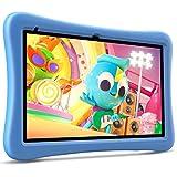 VANKYO MatrixPad S10 Kids Tablet 10 inch, 2 GB RAM, 32 GB Storage, Quad-Core Processor, Kidoz Pre Installed, 10.1' IPS HD Display, Android OS, WiFi Tablet, Dual Camera, GPS, FM, Blue Kid-Proof Case