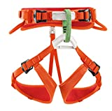 Petzl  Macchu C15AC - Arnés de escalada para niños, Naranja , One Size