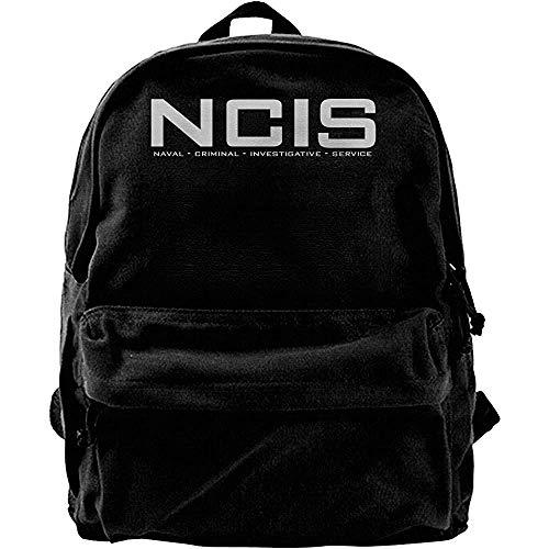 Backpack NCIS Team 2 Canvas Rucksack Daypack Bookbag Casual Print Schüler Universal Travel Gedruckt Langlebig