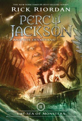 Percy Jackson & the Olympians: The Sea of Monsters - Book Two (Percy Jackson & the Olympians, 2)