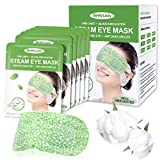 16 Packs Steam Eye Masks for Dry Eyes, SPA Warm Eye Mask, Relief Eye Fatigue Hot Sleep Eye Mask for Puffy Eyes Mask, Disposable Moist Heating Compress Pads for Sleeping- Unscented