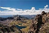 N\A Puzzle Jigsaw Rompecabezas 500 Piezas Mountains Andorra Coma Pedrosa National Park Crag para Amigo Adulto