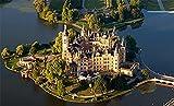 XHJY Schweriner Schloss Deutschland Holzpuzzles Für Erwachsene, Unmögliche Puzzleteile,...
