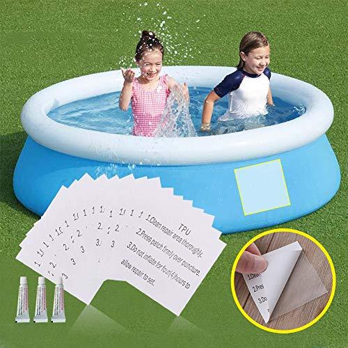 Wasserdichtes, langlebiges Reparaturset für Vinylkunststoffe Reparaturset für aufblasbares Schwimmbadespielzeug