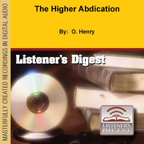 The Higher Abdication  audiobook cover art