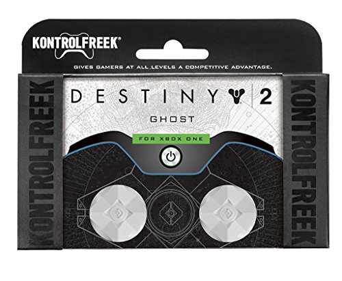 KontrolFreek Destiny 2: Ghost for Xbox One Controller | Performance Thumbsticks | 2 Mid-Rise | White