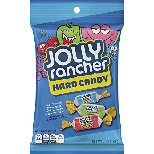 JOLLY RANCHER Hard Candy Bulk Assortment, Individually Wrapped, 7 Ounce (Pack of 12)