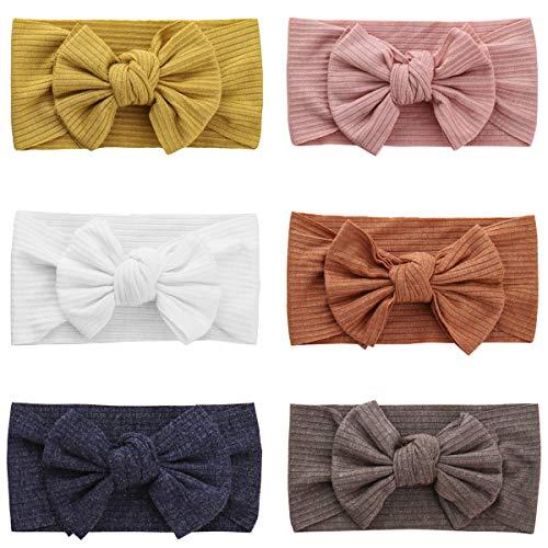 JMITHA Baby Stirnbänder Turban Haarband Stirnband Kopfband Babyschmuck Mädchen geschenke Taufe Stirnband Turban Mädchen Head wrap (10, S)