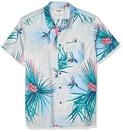 Billabong Sundays - Camisa de manga corta para hombre - Beig